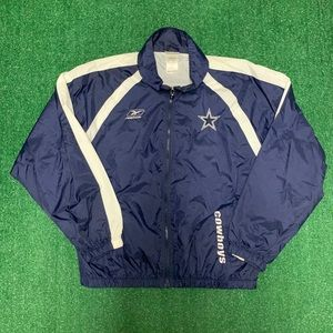 Vintage Reebok Dallas Cowboys Jacket Size XL 90s